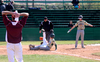 Bucks baseball vs Columbia (ID) 03-28-15