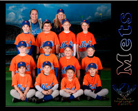 Pilot Rock Little League team photos 2010